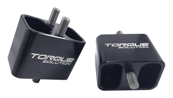 Torque Solution Solid Billet Engine Mounts: 02-14 Subaru WRX / 04-17 STI
