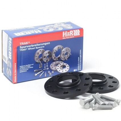 H&R DRS Wheel Spacers - 10mm / 5x100 / 12x1.5 / Bore: 54.1mm