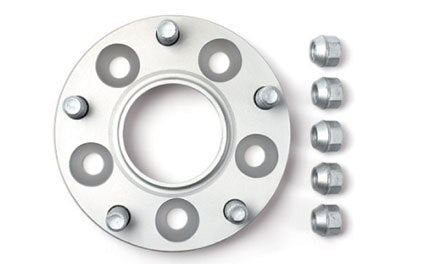 H&R DRM Wheel Spacers - 25mm / 5x100 / 12x1.5 / Bore: 57.1