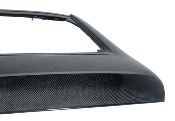 Seibon Carbon Rear Hatch OEM Style - 350Z '02-'07