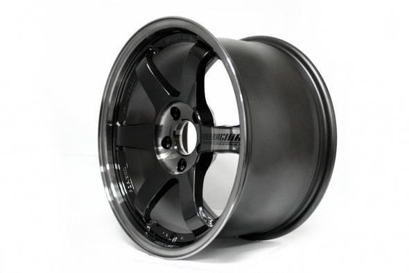 Volk Racing TE37SL Super Lap 18x9.5 +40 5x114.3 Pressed Double Black - Subaru WRX/STI Spec