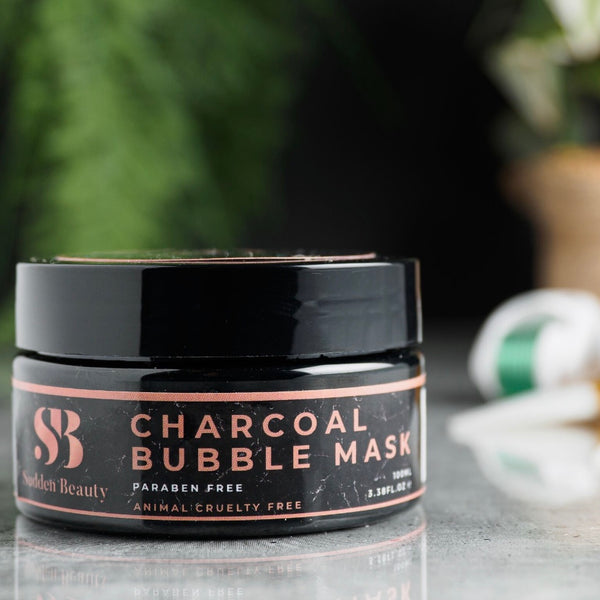 Activated Charcoal Bubble Mask-SuddenBeauty