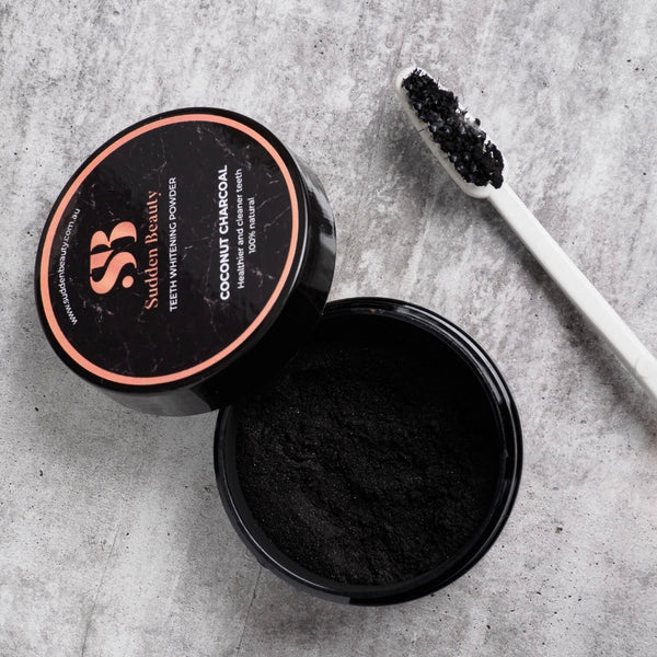 100% Natural Activated Charcoal Tooth Polish