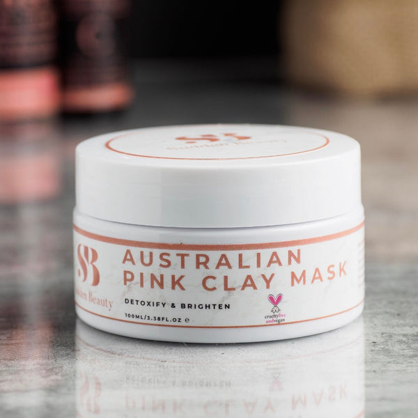 Australian Pink Clay Mask-SuddenBeauty