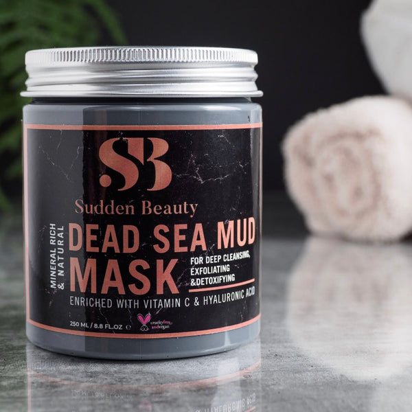 Organic Dead Sea Mud Mask-SuddenBeauty