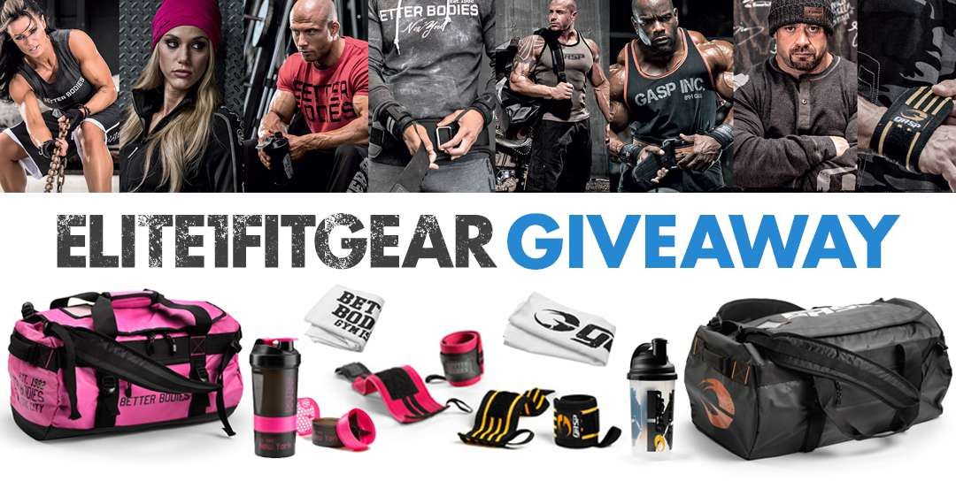 Elite1fitgear GASP and Better Bodies Giveaway