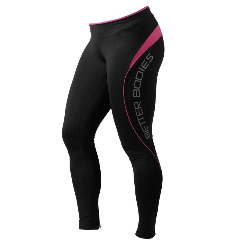 Better Bodies Fitness Long Tights hot pink