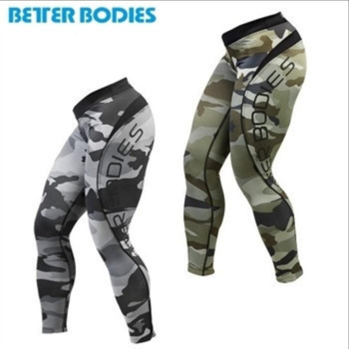Better Bodies Camo Long Tights