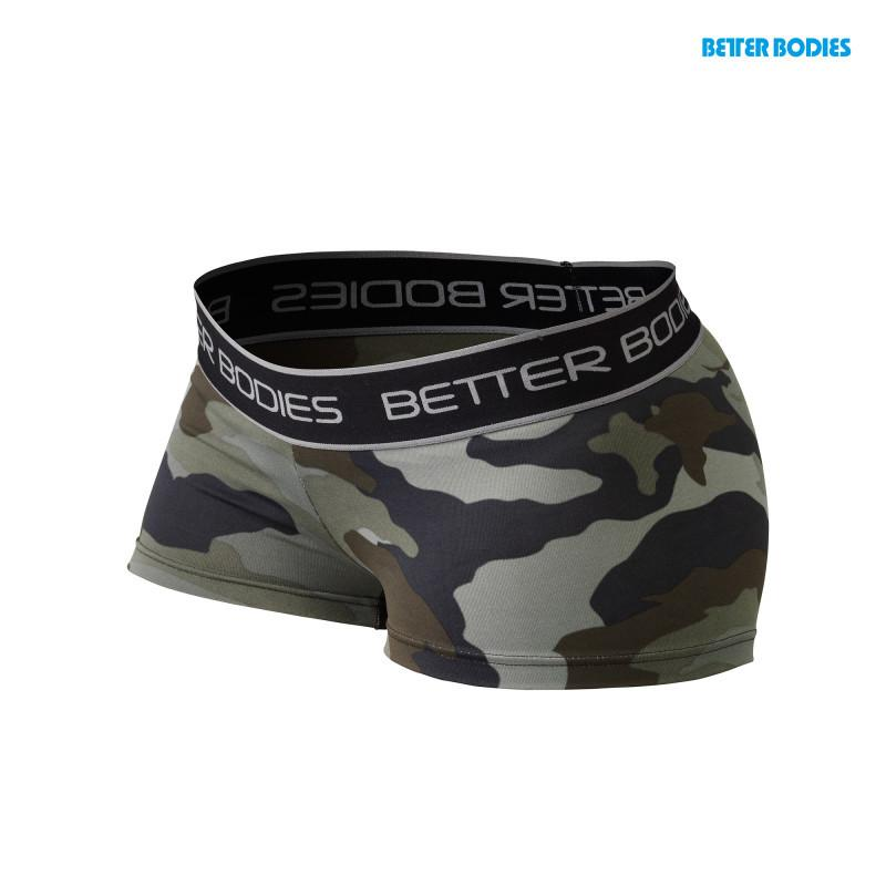 Better Bodies Fitness Hotpant green camo