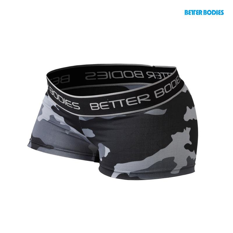 Better Bodies Fitness Hotpant grey camo