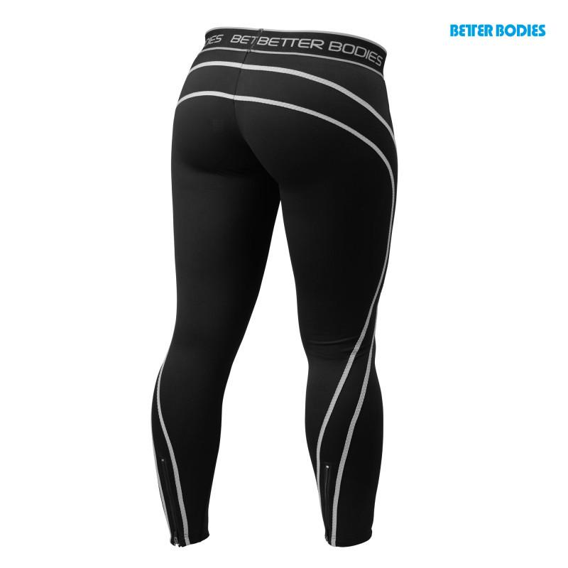 Better Bodies Women's Athlete Tights black/grey