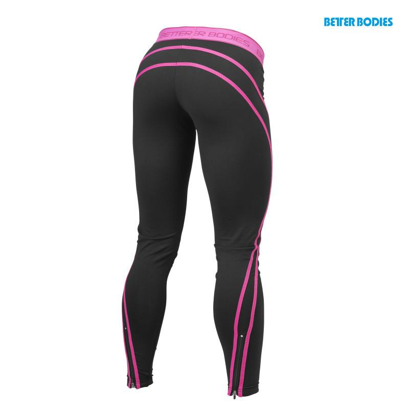 Better Bodies Women's Athlete Tights black/pink