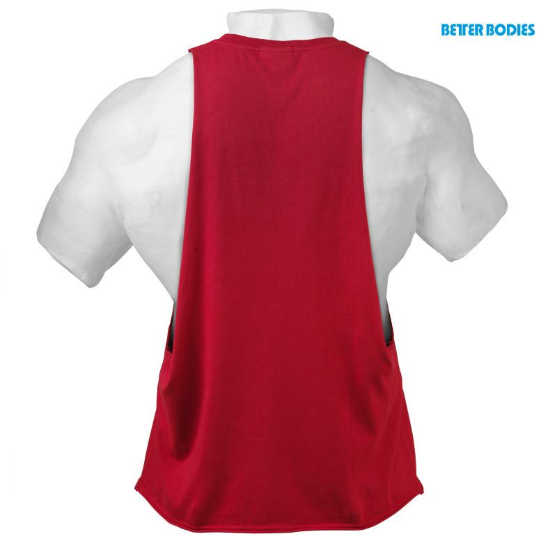 Better Bodies Graphic Logo Sleeveless red
