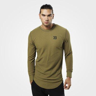 Better Bodies Harlem Long Sleeve Thermal military green