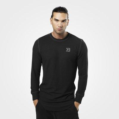 Better Bodies Harlem Long Sleeve Thermal Black