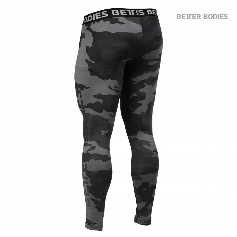 BETTER BODIES MEN´S HUDSON LOGO TIGHTS DARK CAMO