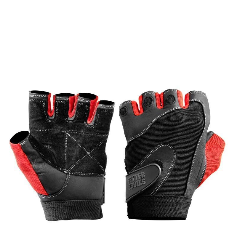 Better Bodies Black Pro Lifting Gloves