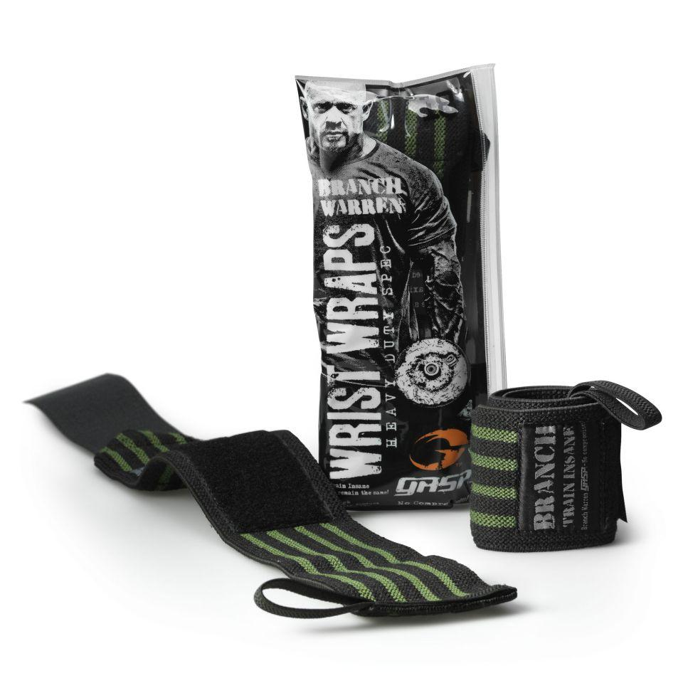 Signature Branch Warren Black HEAVY DUTY Wrist Wraps