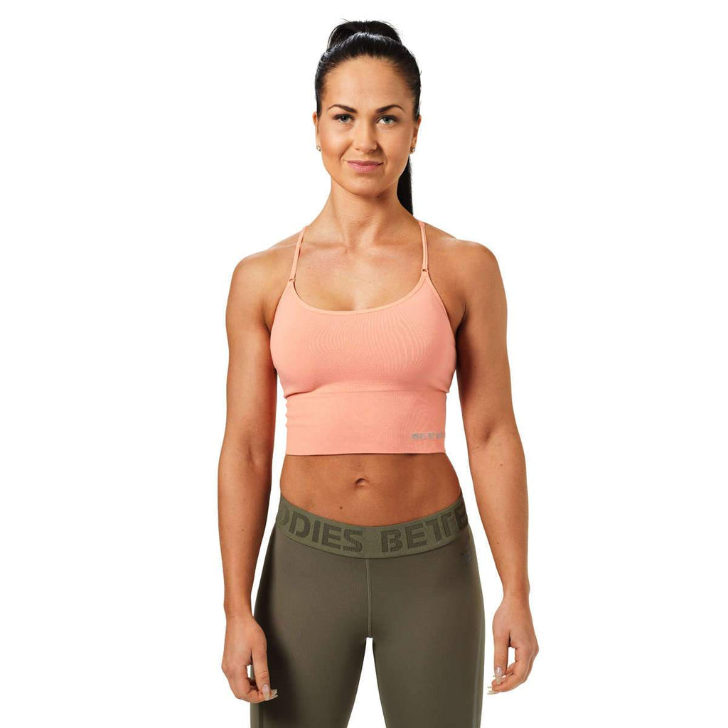 Better Bodies Astoria Seamless Bra, peach