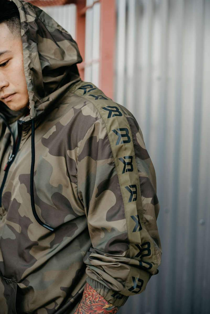 Better Bodies Harlem Jacket, military camo
