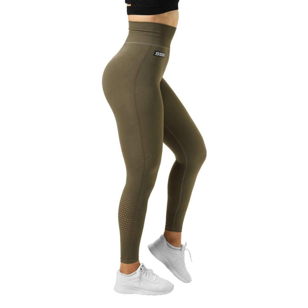Better Bodies Bowery High Tights Khaki Green