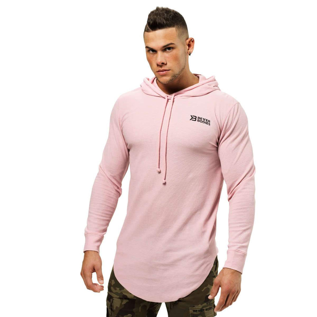 Better Bodies Men's Stanton thermal hood light pink