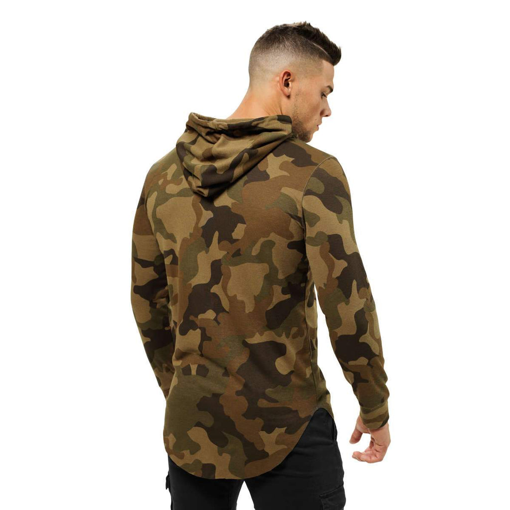 Better Bodies Men's Stanton thermal hood military camo