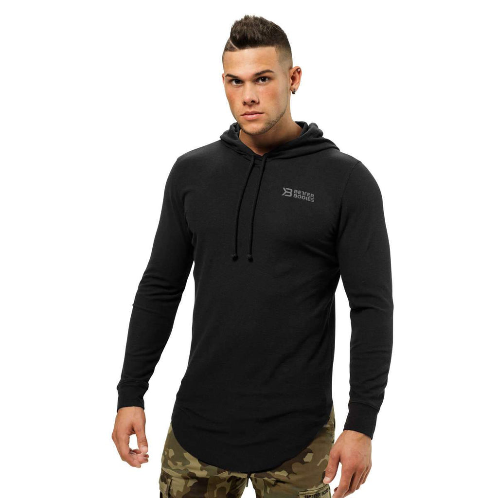 Better Bodies Men's Stanton thermal hood black