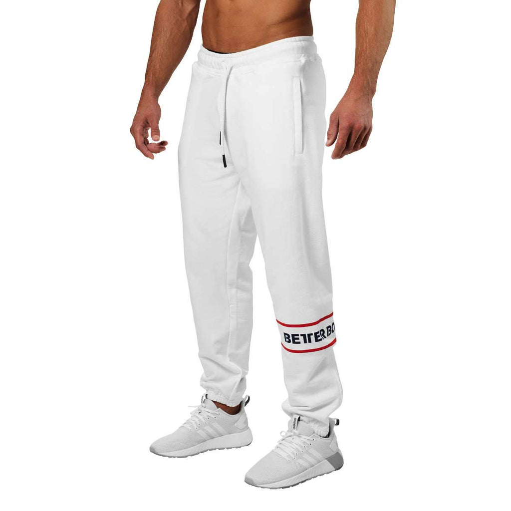 Better Bodies Tribeca Sweat Pant, White