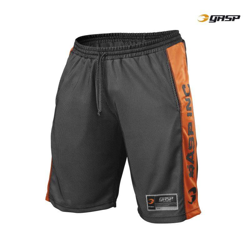 GASP Men's No1 Mesh Short, black/flame
