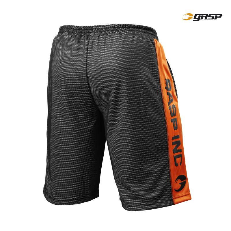 GASP Men's No1 Mesh Short  black/flame