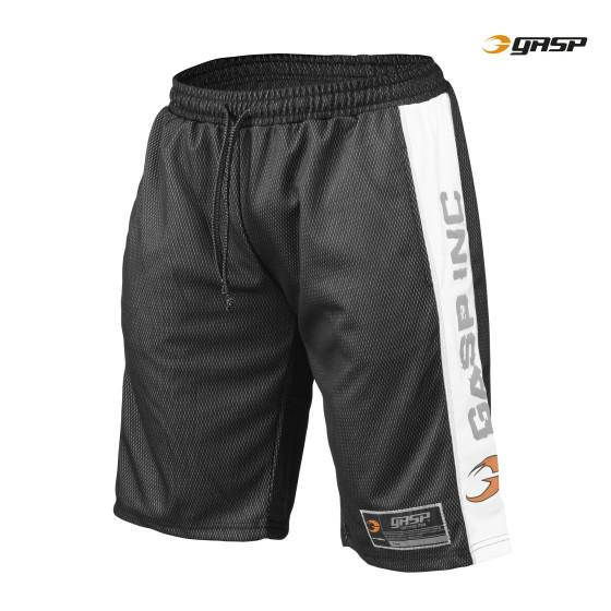 GASP Men's No1 Mesh Short, black/white