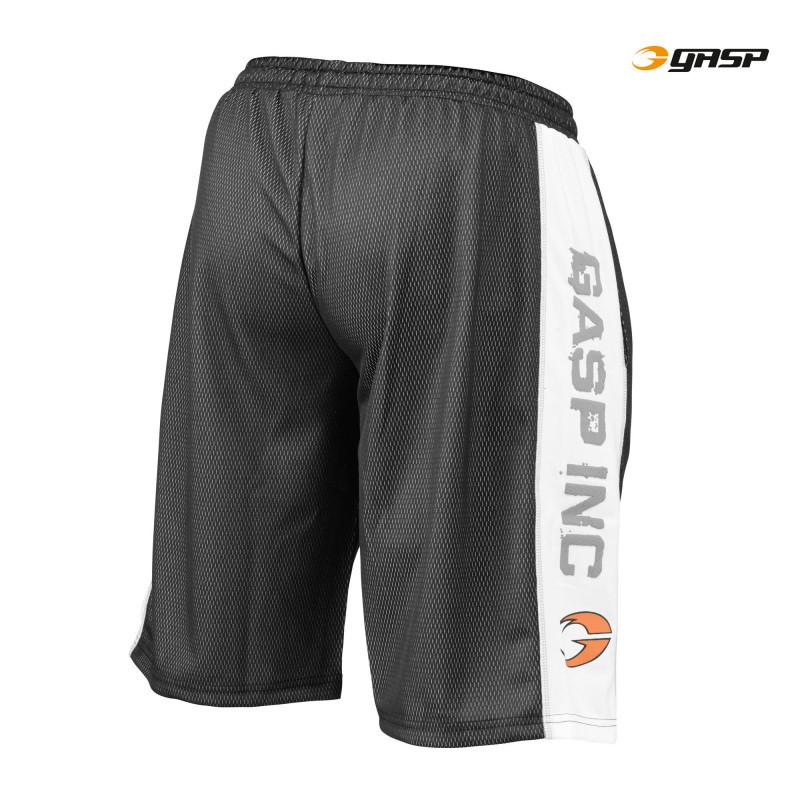 GASP Men's No1 Mesh Short  black/white