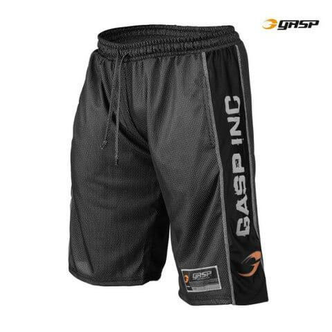 GASP Men's No1 Mesh Short, black