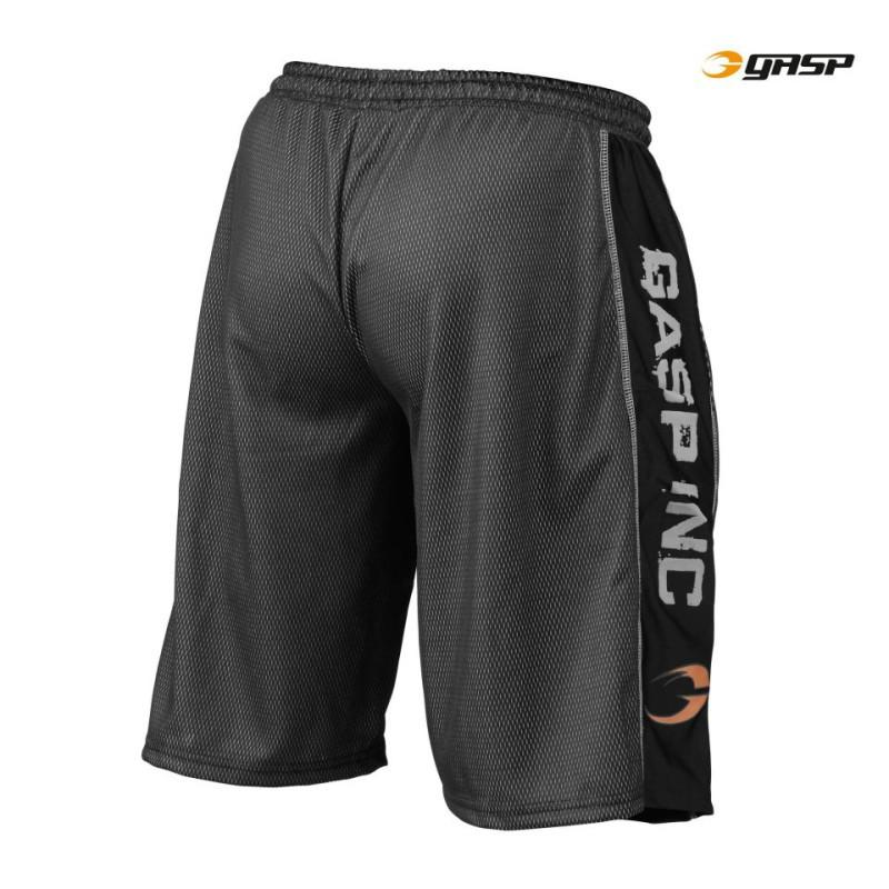 GASP Men's Black No1 Mesh Short