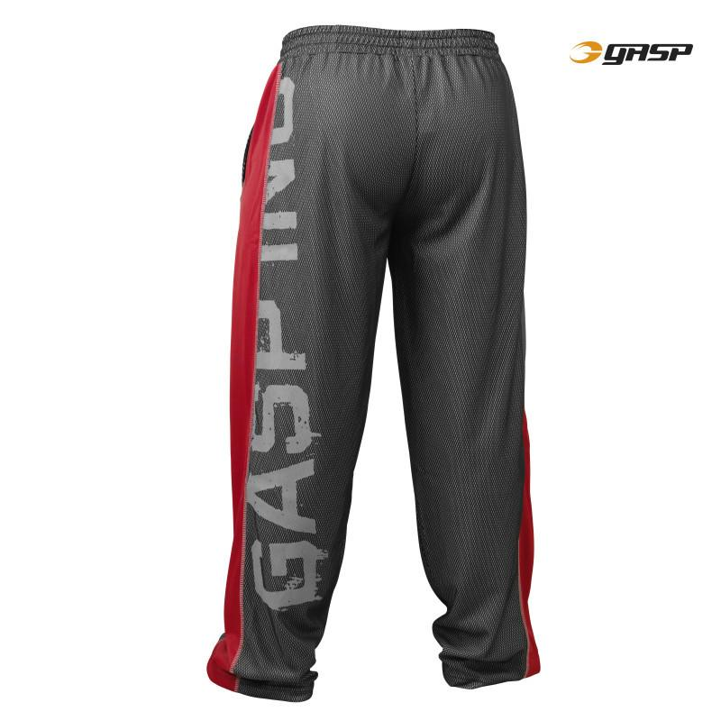 GASP Men's No1 Mesh Pant black/red