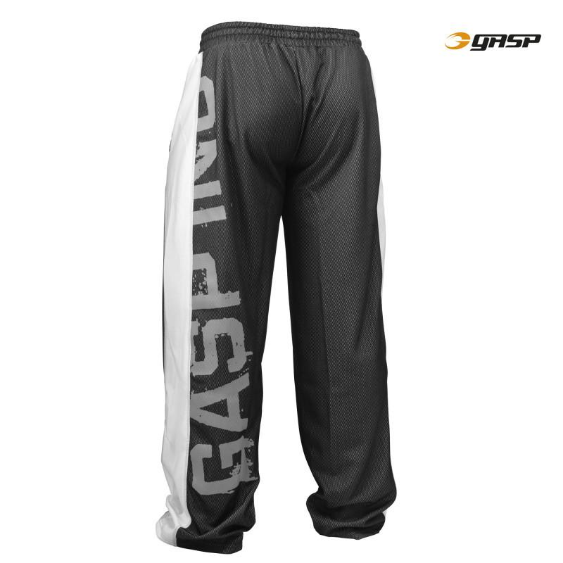 GASP Men's No1 Mesh Pant black/white