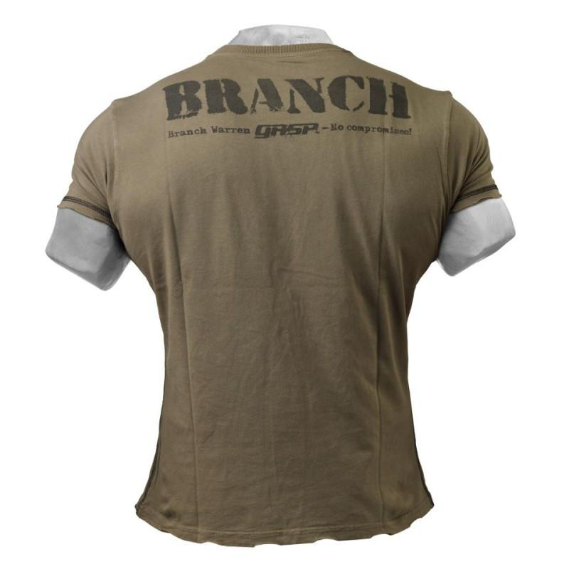 Gasp Branch SPP Rough Tee wash green