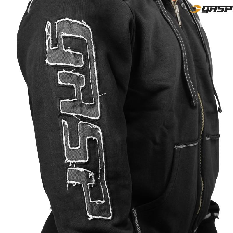 Gasp PRO Gym Hood Jacket Black