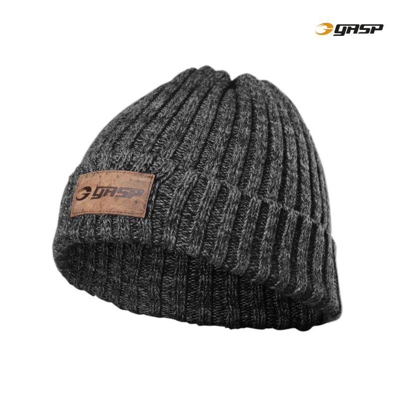 GASP HEAVY KNITTED HAT METAL