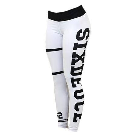 Six Deuce White Jersey Gen. 2 Fitness Leggings