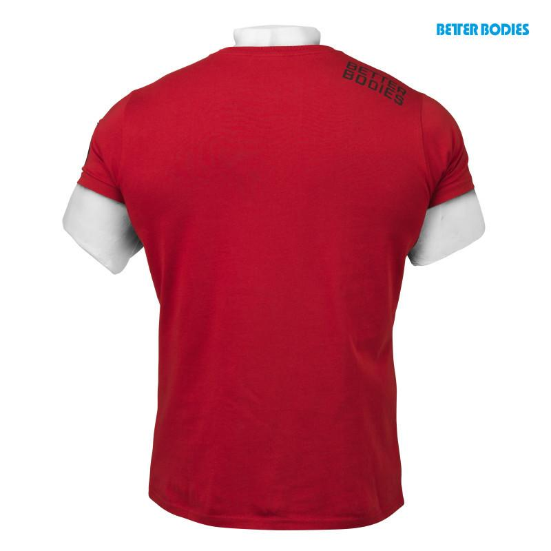 Better Bodies N.Y. Rough Tee jester red