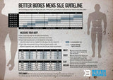 Elite1FitGear | Better Bodies Size Chart