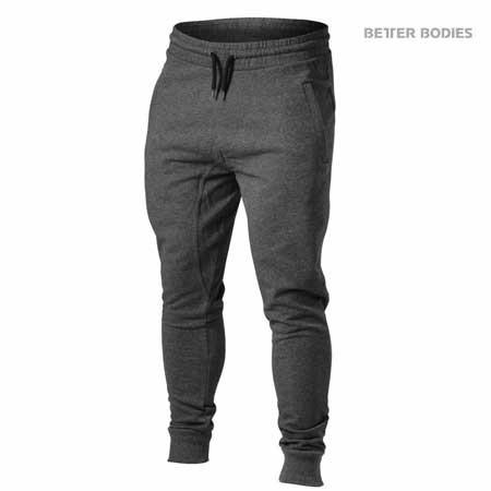 Better Bodies Men's Tapered Joggers Graphite