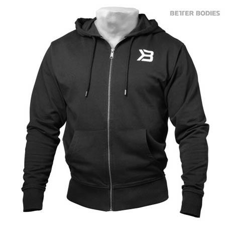 Black Better Bodies Men's Jersey Hoodie