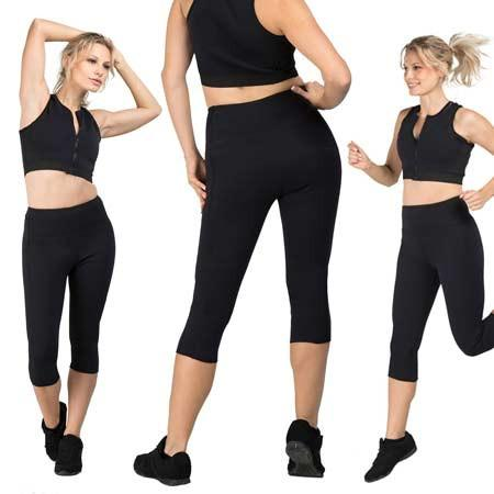 DELFIN SPA Heat Maximizing Capris - Black