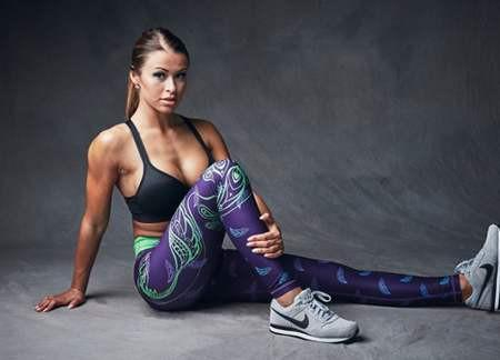 Six Deuce Peacock leggings Elite1fitgear