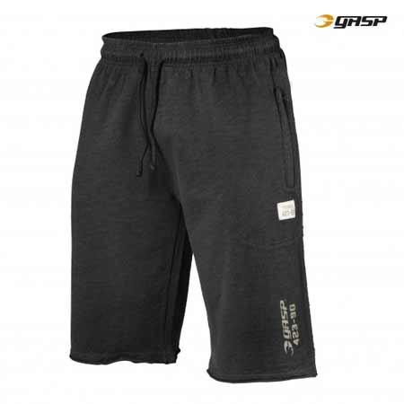 GASP THROW BACK SWEAT SHORTS black