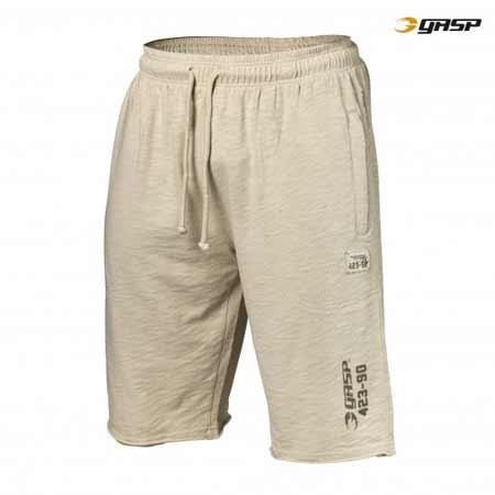 GASP THROW BACK SWEAT SHORTS cement