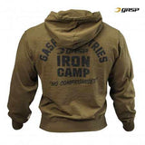 GASP Throw Back Hoodie Military Olive